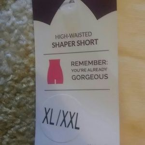 NWT High-waisted shaper shorts